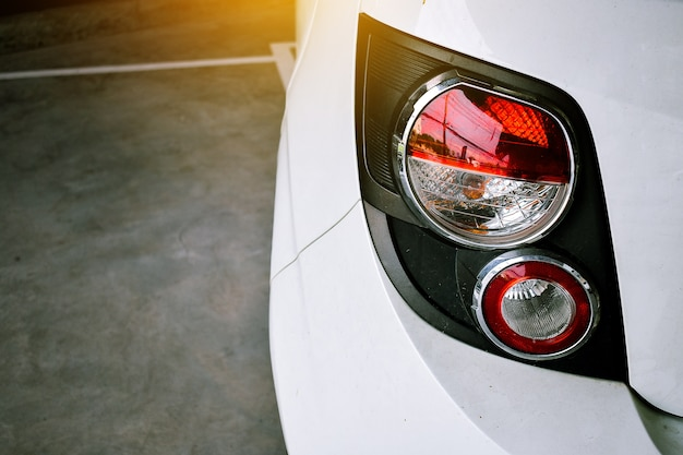 Car tail light red color for customers