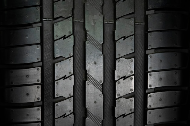 Car tire background, tyre texture background.