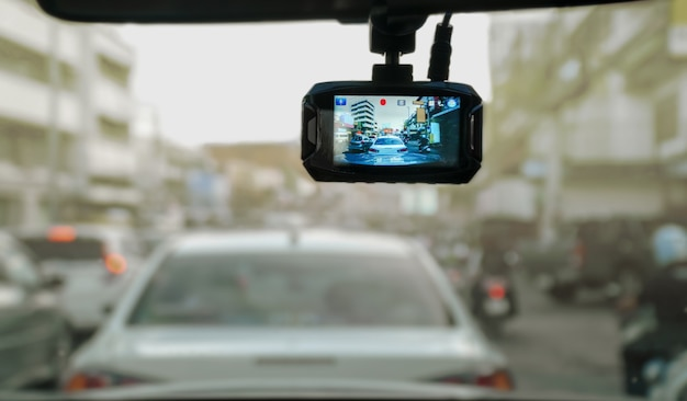 Car video recorder for record event