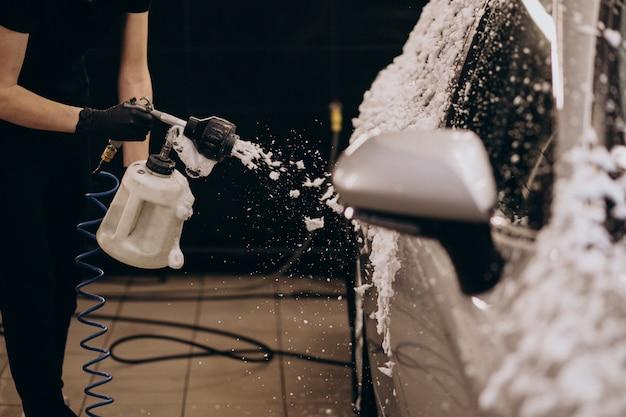 洗車詳細ステーション