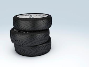 Car Wheel. Concept design