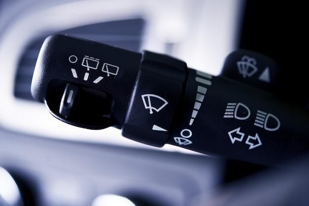 Car wipers control