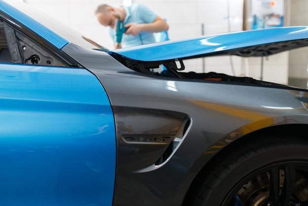 Автомобильная упаковка, защитная пленка или пленочное покрытие
