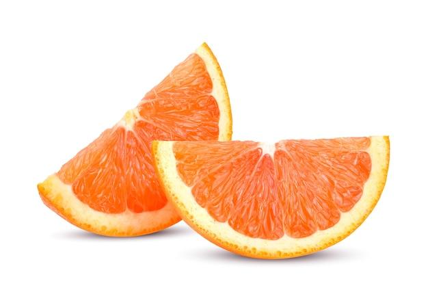 Caracara 오렌지 흰색 배경에 고립