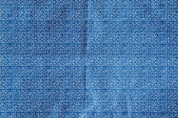 Углеродная синяя текстура бумаги