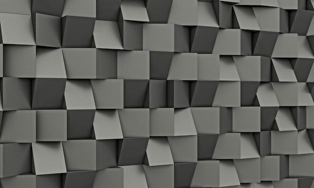 炭素繊維の幾何学的な背景