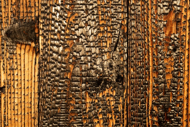 炭化木材古代の伝統的な日本の技法shosugi ban