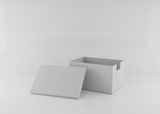 Визуализация картонной коробки