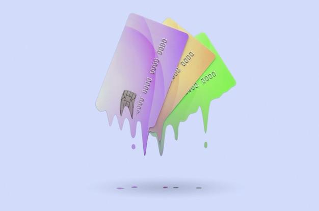 Card expires soon concept