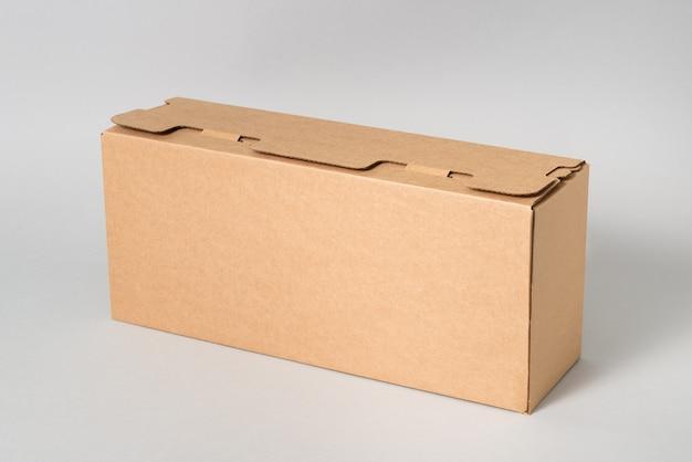 プリンターカートリッジ用の段ボールの茶色のカートンボックス