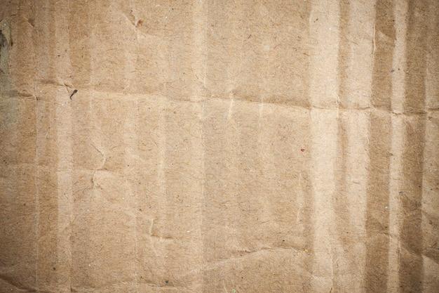 段ボール茶色の紙の背景のビネット