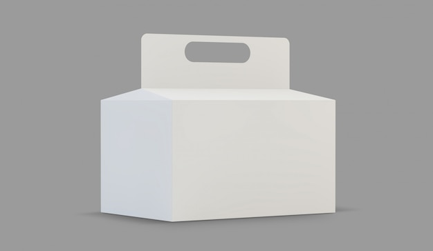 Cardboard carry packaging box