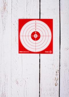 Cardboard target for shooting