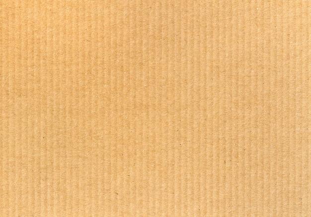 段ボールの縦線パターン