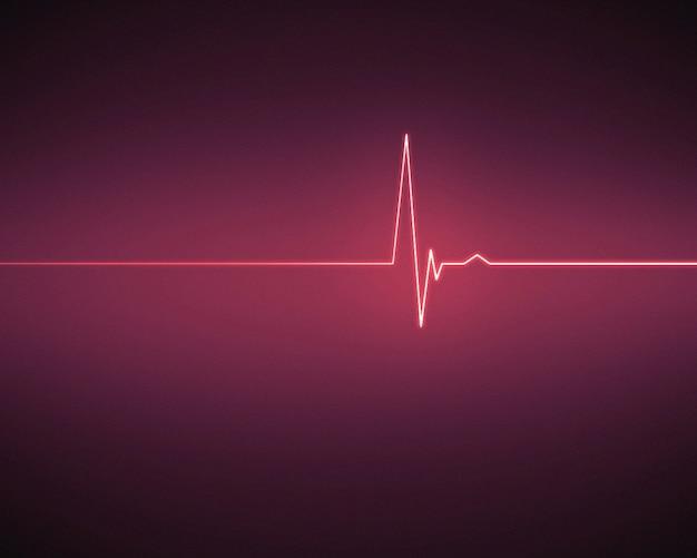 심장 심전도 병원 심전도 비디오 배경