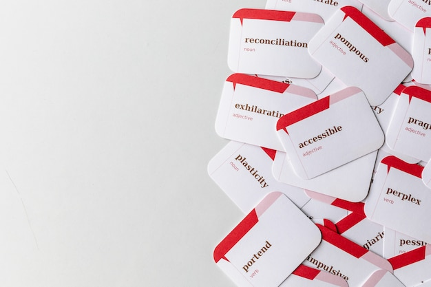 Cards for teaching and learning english