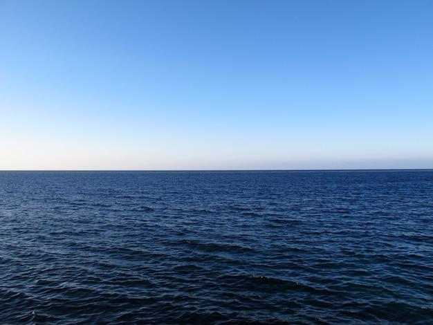 Caribbian sea in havana, cuba