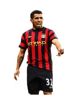 Carlos tevez   man city premier league