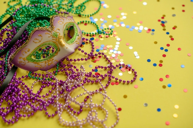 Carnival or mardi gras composition