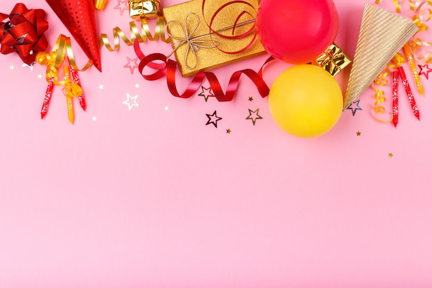 카니발 또는 생일 파티 아이템