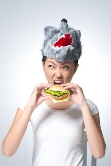 肉食動物 Premium写真