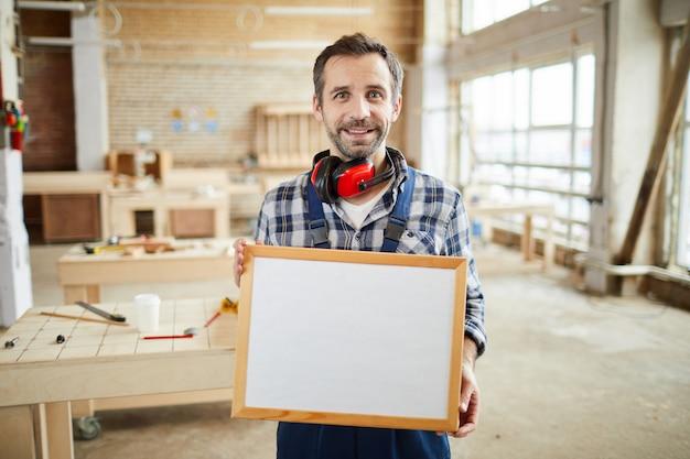 Carpenter holding frame
