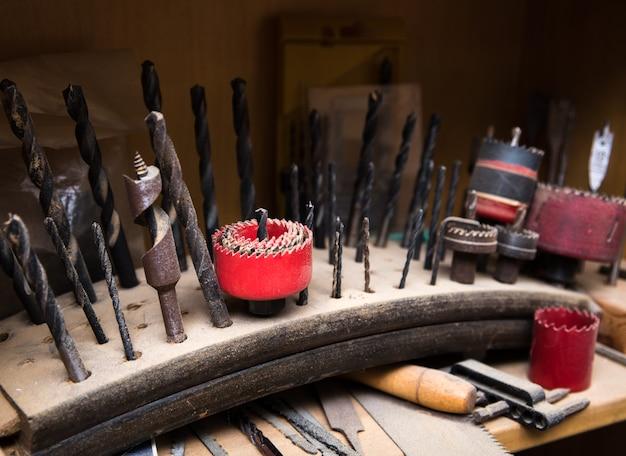 Carpenter's drill.