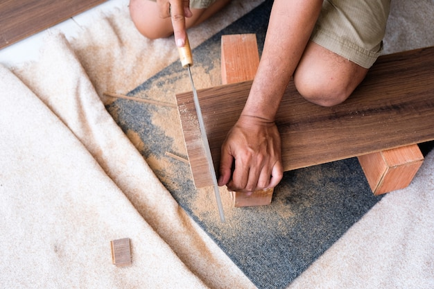 Carpentry and flooring and furniture