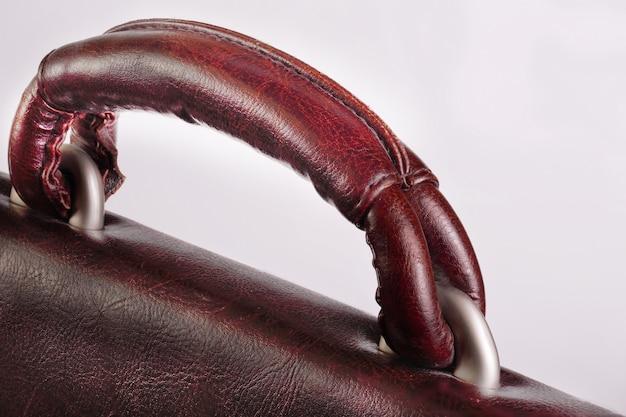 Ручка для переноски коричневая сумка для документов