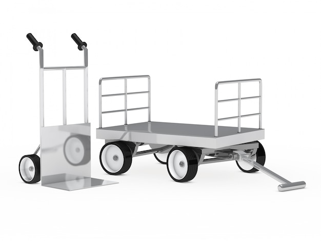 Cart and trailer