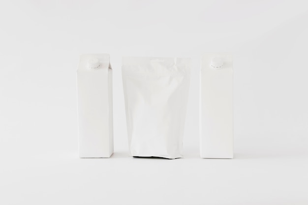 Carton and paper packages for dairy produce