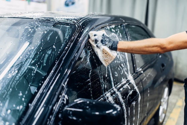 Carwash service, car cleaning