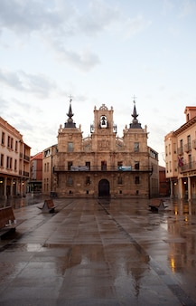 The casas consistoriales in astorga
