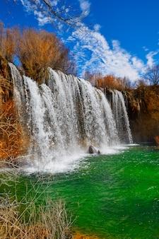 Cascada de san pedro in teruel sierra albarracin