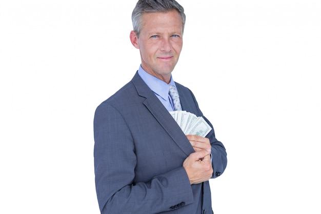 Cash sheet holding studio classy