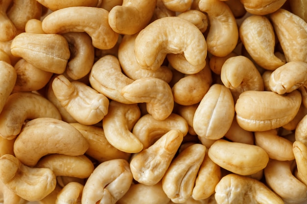Cashew with no shell o