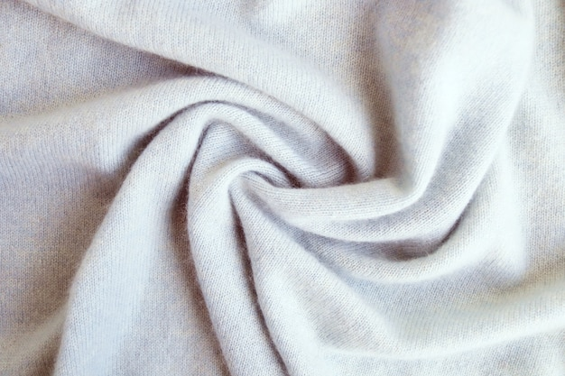 Кашемир бежевая текстура ткани натуральная шерсть драпированный вид сверху