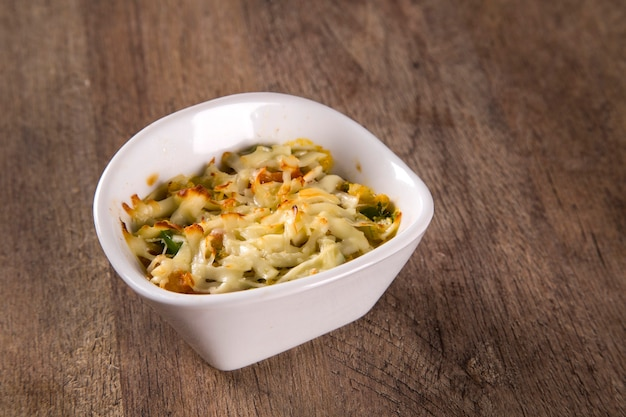 カスキーニャデシリ。カニミールグラタン前菜