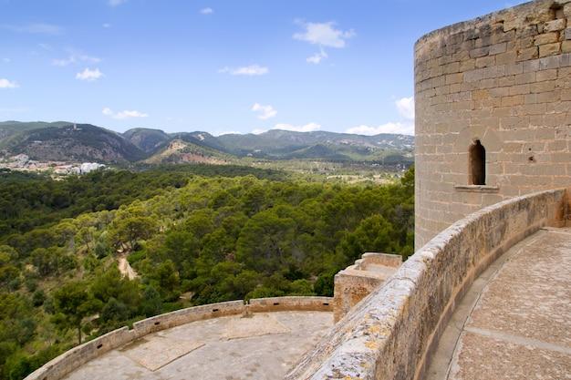 Castillo de bellver castle in palma de mallorca