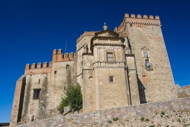 Castle of aracena, huelva, spain
