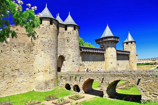 カルカソンヌ城(フランス、ラングドック)、ヨーロッパ最大の城