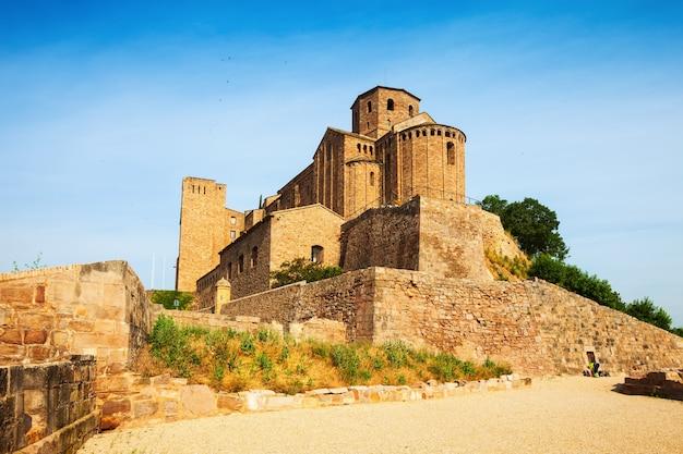 Castle of cardona on sunny day
