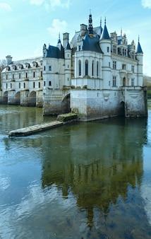 쉐어 강 프랑스에 성 chenonceau.