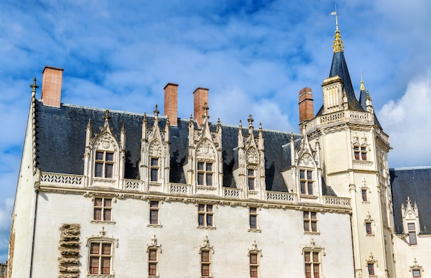 Castle of the dukes of brittany in nantes france