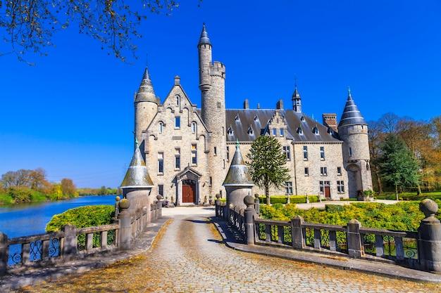 Castle from fairytale. belgium, marnix