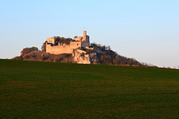 Castle in a hill