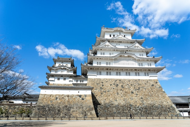 Castle in himeji, one of the oldest castles in japan