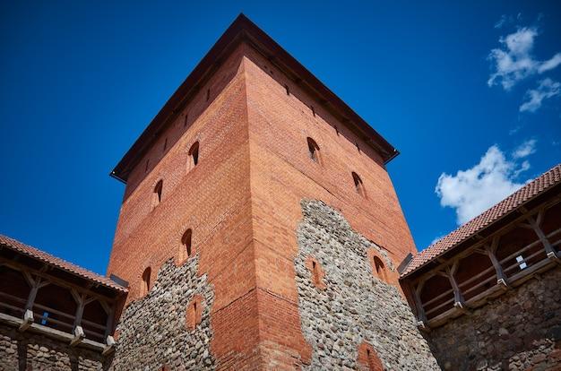 Замок в городе лида в беларуси