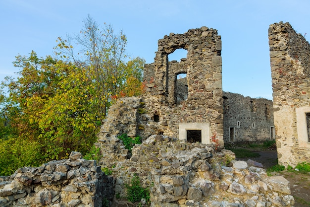 Castle nevitsky in zakarpatyya ukraine