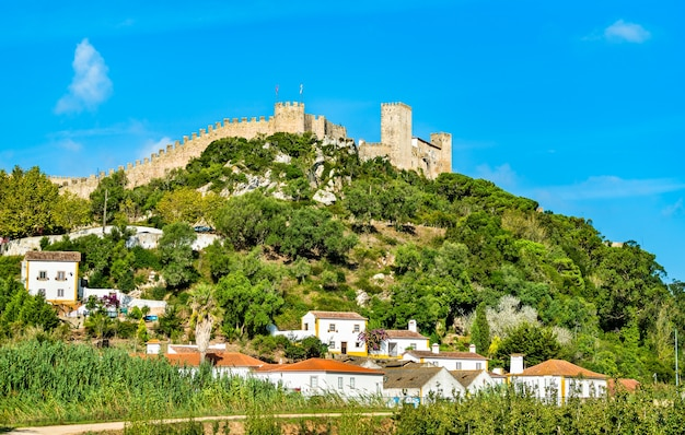 Castle of obidos, a medieval fortified town in oeste region of portugal